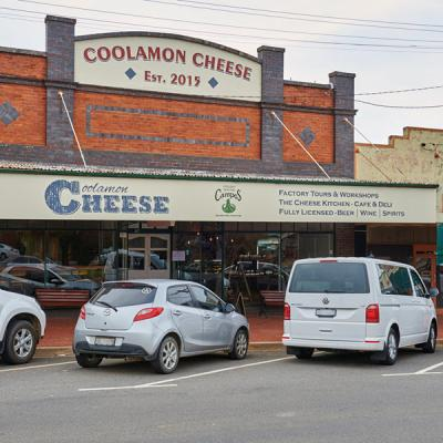 Coolamon Cheese Coolamon north of Wagga Wagga. Mandatory credit Destination NSW